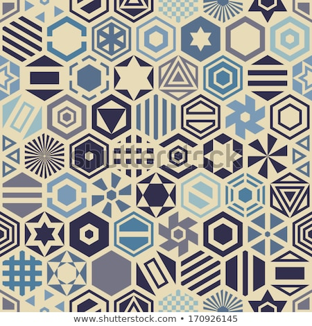 viola · mosaico · pallina · da · golf · superficie · moderno · geometrica - foto d'archivio © hypnocreative