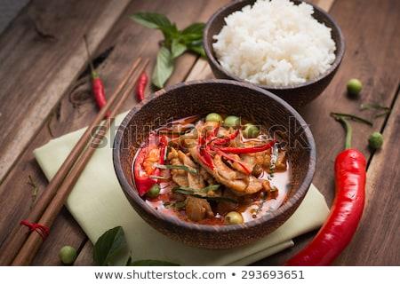 人気のある タイ料理 タイ ぱりぱり エビ 皿 ストックフォト © ArenaCreative