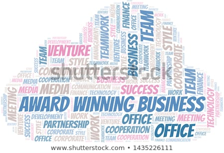 Award Winning - Wordcloud Concept. Stock photo © tashatuvango