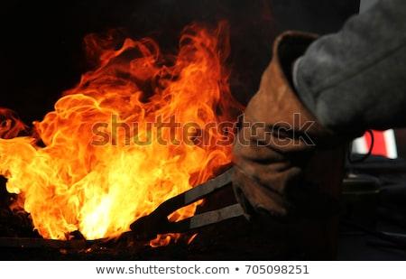 terra · zombie · fuoco · panorama - foto d'archivio © obencem