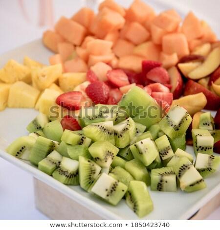плодов · буфет · вечеринка · шоколадом · ресторан · таблице - Сток-фото © limpido