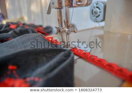 fonál · négy · zöld · piros · citromsárga · kék - stock fotó © stevanovicigor