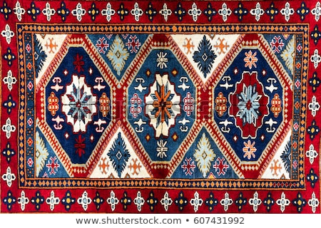 türk · halı · arka · plan · sanat · kırmızı · Asya - stok fotoğraf © emirkoo