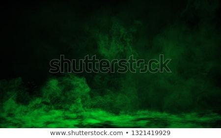 Verde humo negro fuego luz diseno Foto stock © Nneirda