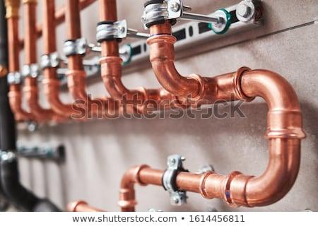 Foto stock: Moderno · quarto · equipamento · aquecimento · água · bombear