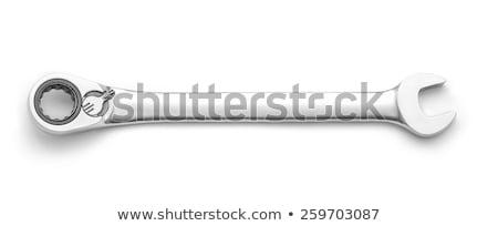 レンチ · 木材 · キー · ワーカー · 産業 · 鋼 - ストックフォト © foka