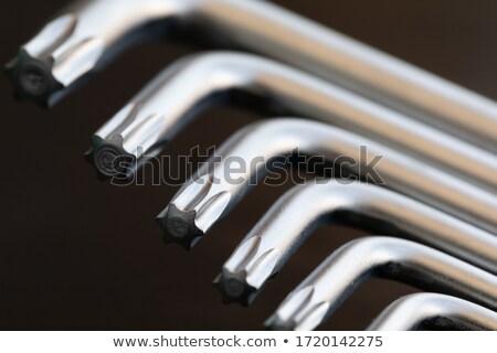 ключевые набор белый группа инструментом фоны Сток-фото © FOKA