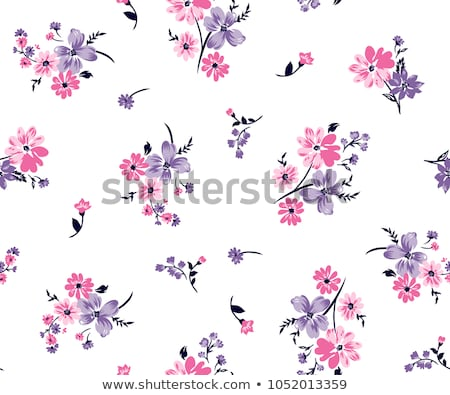 Roses pattern seamless. Flower vector wallpaper Stock photo © popaukropa