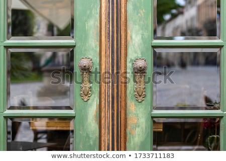 beautiful old retro doors Stock photo © jarin13