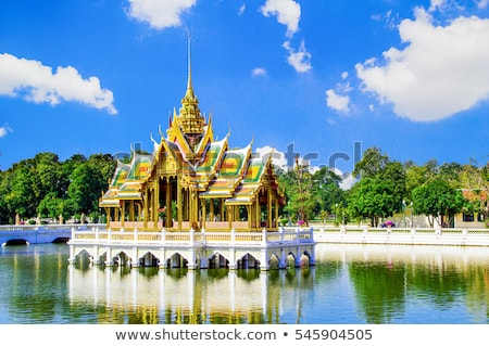 real · palacio · Bangkok · detalle · vista - foto stock © tang90246