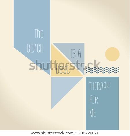legjobb · tipográfia · inspiráló · poszter · retró · stílus · jó - stock fotó © balasoiu