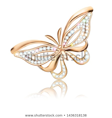 Butterfly brooch Stock photo © RuslanOmega