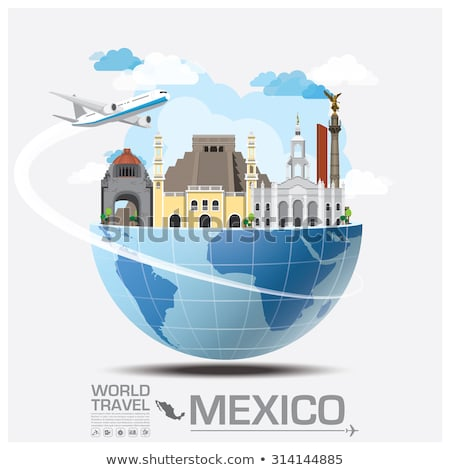 Infographic Elements for Traveling to Mexico Stock photo © artisticco