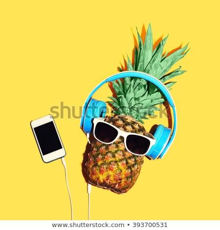 zomer · muziekfestival · reusachtig · menigte · jongeren · vieren - stockfoto © fisher