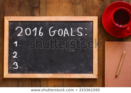 2016 goals Stock photo © adrenalina