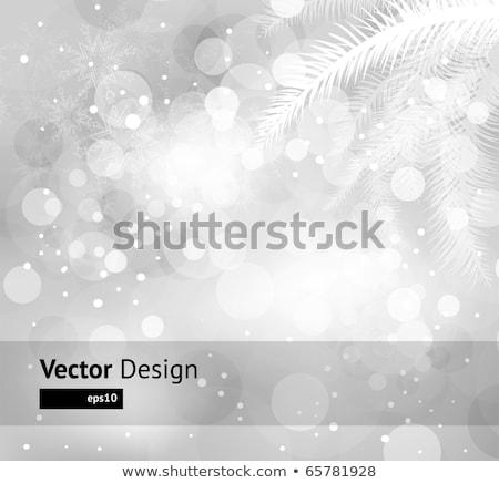 Christmas defocused light. EPS 10 Stock photo © beholdereye