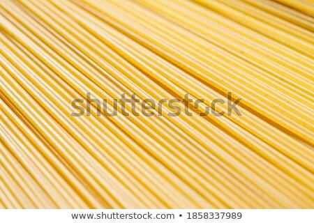 uncooked spaghetti closeup  Stock photo © OleksandrO