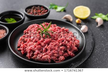 Fresh ground meat Stock photo © Digifoodstock