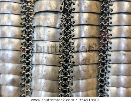 Weaving chain mail manually stock photo © Phantom1311