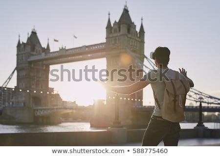 Man exploring virtual reality environment Stock photo © stevanovicigor