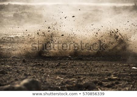 Mud road track Stock photo © ia_64