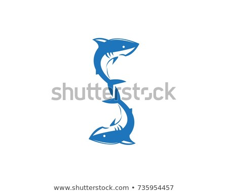 A letter S for shark Stock photo © bluering