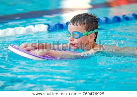 natation · enfants · illustration · verres · costume - photo stock © adrenalina