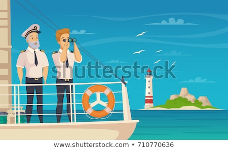 sailor on a naval vessel Stock photo © ssuaphoto