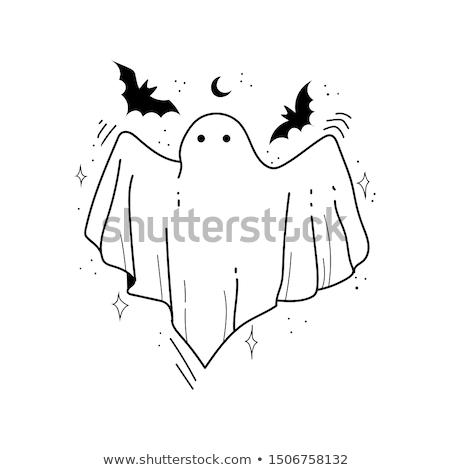 Spooky ghost Stock photo © kjpargeter