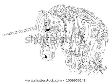 красочный · бабочки · иллюстрация · набор · изолированный · животного - Сток-фото © bluering