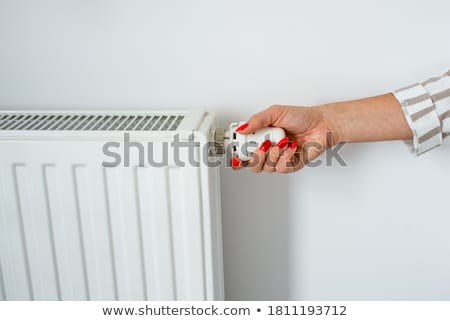 heating radiator adjusting knob stock photo © stevanovicigor