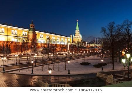 Кремль стены башни Красная площадь Москва Россия Сток-фото © simply
