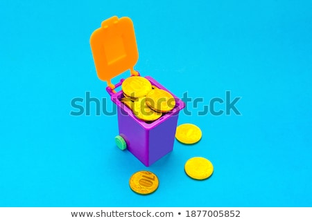 Financial Concept, bright colorful tone Stock photo © JanPietruszka