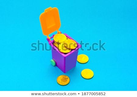 pénzügyi · számológép · cég · könyvelés - stock fotó © janpietruszka