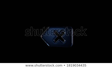 Keyboard with Blue Key - Delete. 3D. Stock photo © tashatuvango