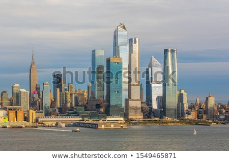 View across the Hudson River to Weehawken, New Jersey Stock photo © sarahdoow