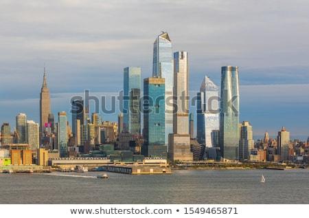 Rivier New Jersey hoog lijn New York City Stockfoto © sarahdoow