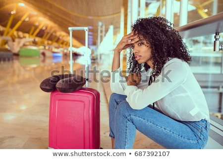 Stress at the airport Stock photo © alexanderandariadna