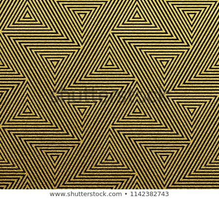 Nero glitter oro senza soluzione di continuità vettore Foto d'archivio © yopixart
