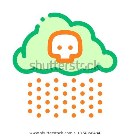 Climate-Change-Melting-Skull Stock photo © Lightsource