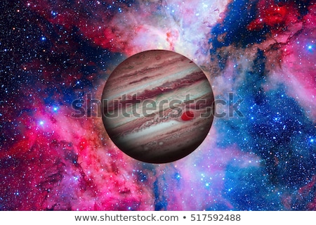 solar system   jupiter it is the largest planet in the solar system stock photo © nasa_images