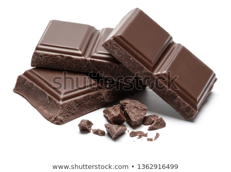 Бар · белый · органический · Sweet · шоколадом · изолированный - Сток-фото © DenisMArt