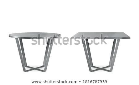 Table of Squared Shape Object Vector Illustration Stock photo © robuart