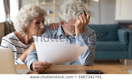 desperate woman having loan problems stock photo © ichiosea