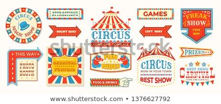 A circus game Stock photo © colematt