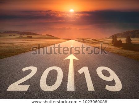 2019 on the road Stock photo © ssuaphoto