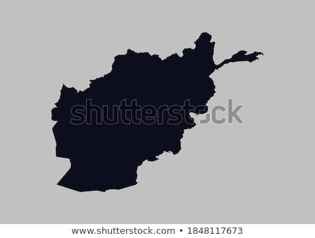 térkép · Afganisztán · politikai · néhány · absztrakt · világ - stock fotó © blaskorizov