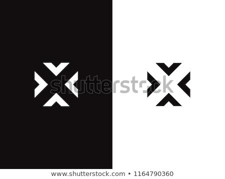 Сток-фото: Стрелки · логотип · негативных · пространстве · икона · символ