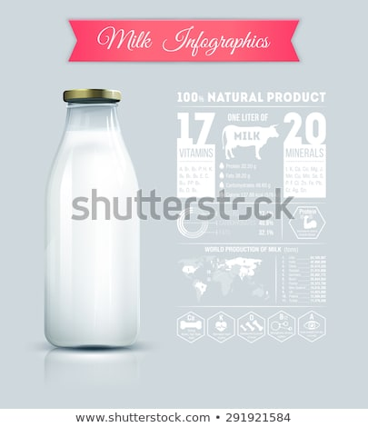alimentos · producción · máquina · fábrica · leche - foto stock © grafvision