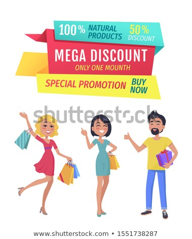 Mega Discount on Exclusive Products Only One Day Stock photo © robuart